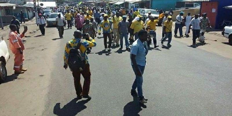 Photo de Gabon: la police disperse un rassemblement de l'opposition