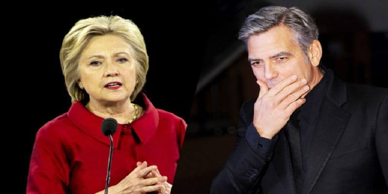 Photo de George Clooney se dit déçu par Hillary Clinton. Voici les raisons