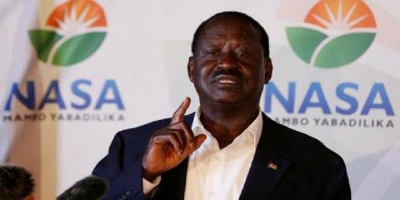 Photo de Kenya: Raila Odinga pose des conditions pour participer à la présidentielle du 17 octobre