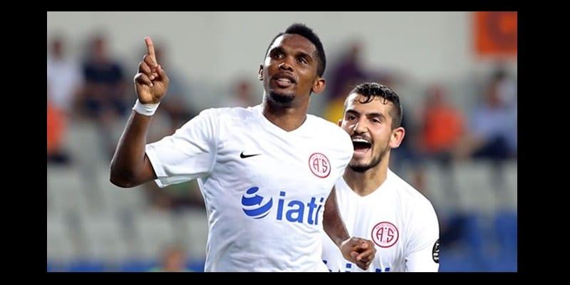 Photo de Samuel Eto'o buteur, Antalyaspor remporte le match