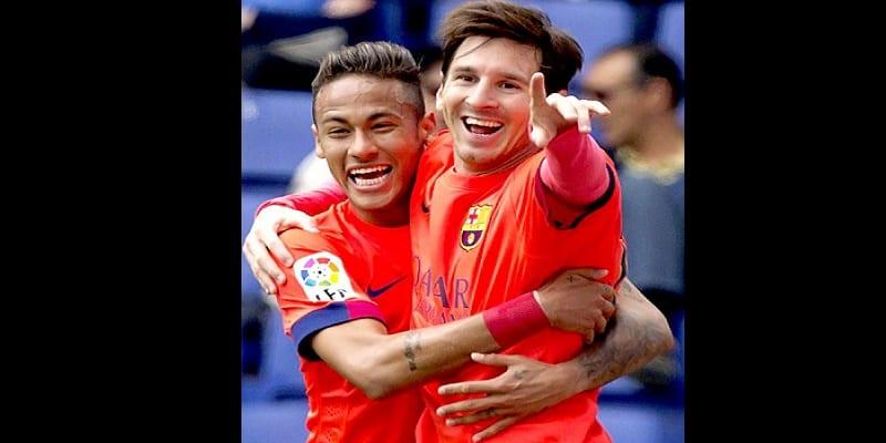 Photo de Le message de Neymar à Lionel Messi après son triplé face à l'Équateur