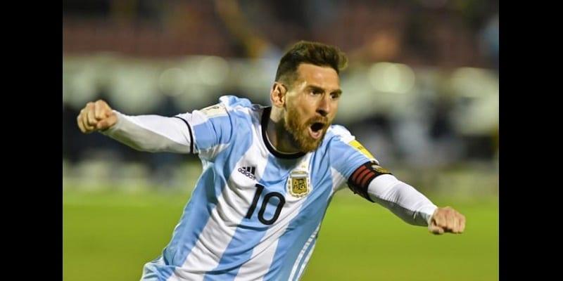 Photo de Lionel Messi permet à l'Argentine d'obtenir son ticket pour Russie 2018