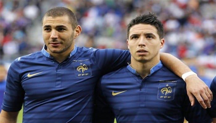 Photo de Samir Nasri, explique pourquoi Benzema est écarté de l'équipe de France