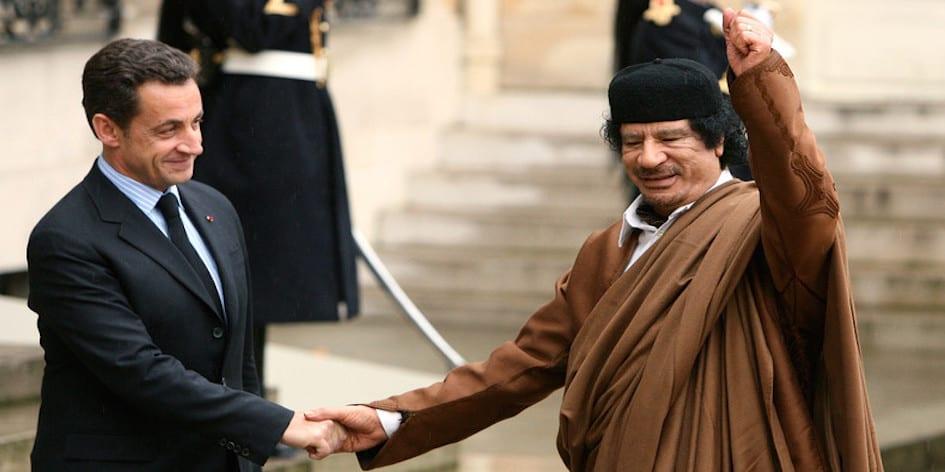 Photo de Assassinat de Kadhafi: Une plainte portée contre Sarkozy