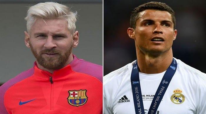 """Photo de Football: """"Cristiano Ronaldo est meilleur que Messi"""" selon ce joueur du FC Barcelone."""