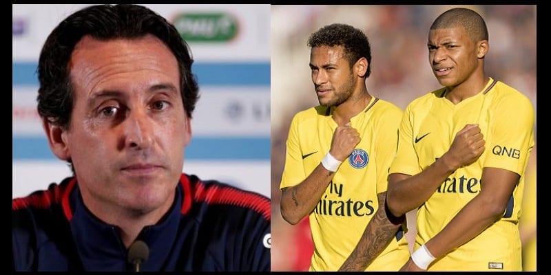 Photo de LDC: Unai Emery apporte des précisions sur Neymar et Mbappé