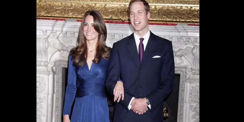 Photo de Angleterre: pourquoi Kate Middleton porte une alliance, mais pas le Prince William