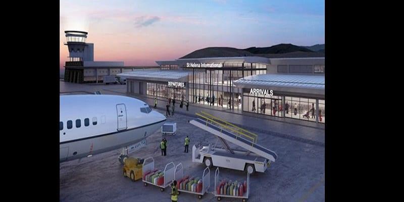 """Photo de L'aéroport le """"plus inutile du monde"""" ouvre ses portes à Sainte-Hélène"""
