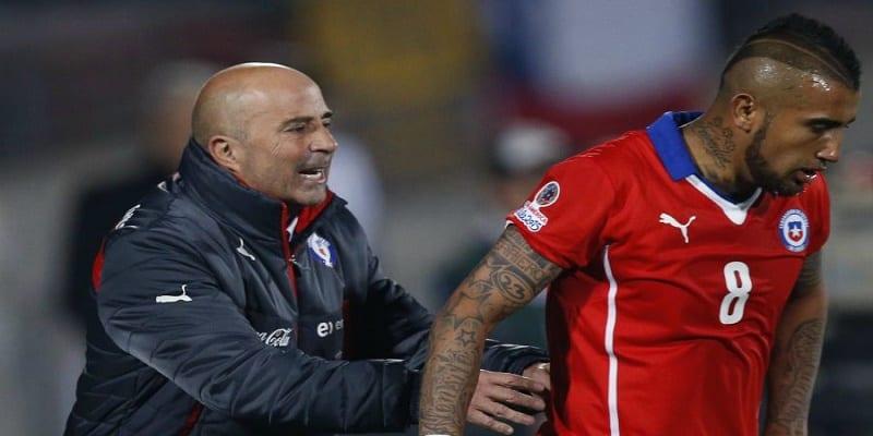 """Photo de Jorge Sampaoli: """"Vidal a un problème avec l'alcool"""""""