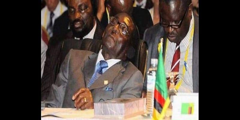 """Photo de Zimbabwe: un activiste arrêté pour avoir traité Robert Mugabe de """"mort vivant"""""""