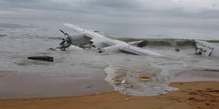 Photo de Côte d'Ivoire: Un avion militaire s'écrase dans la mer. Plusieurs morts