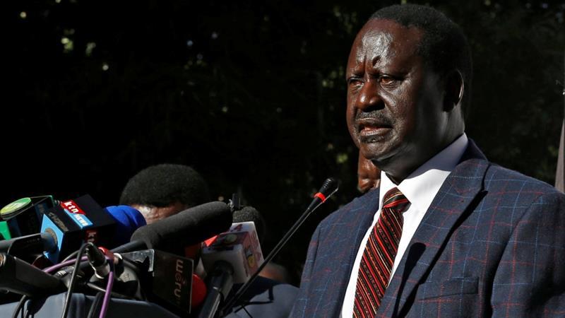 Photo de Kenya : le principal opposant Raila Odinga se retire de la présidentielle du 26 octobre !
