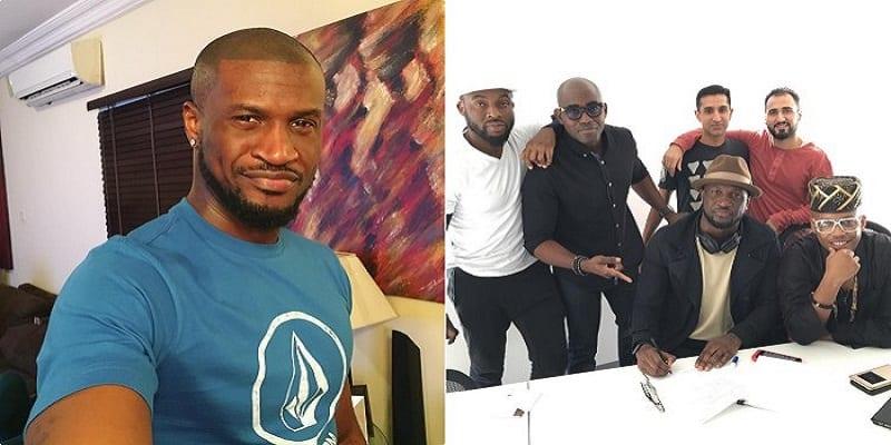Photo de Musique: Peter Okoye signe un nouveau contrat aux États-Unis