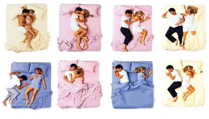 Photo de Couple : votre façon de dormir révèle tout sur votre relation!
