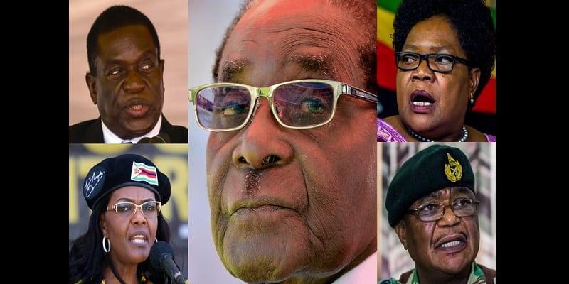 Photo de Zimbabwe: Voici les principaux acteurs de la crise qui secoue le pays (photos)