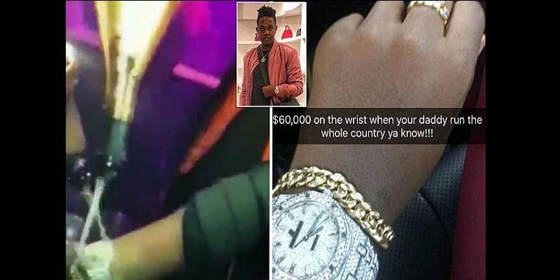 Photo de Zimbabwe: le fils de Mugabe choque la toile en vantant sa montre de 60 000 dollars (vidéo)