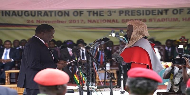 Photo de Zimbabwe: Le nouveau président a prêté serment ce vendredi matin