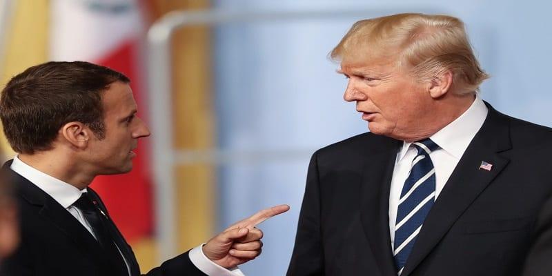 Photo de Voici la leçon de Macron à Trump sur l'utilisation de Twitter