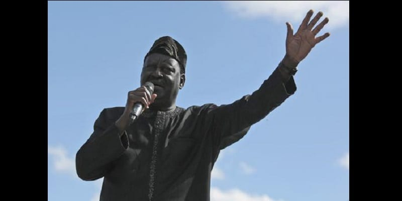 Photo de Raila Odinga: «Je vais prêter serment le 12 décembre»