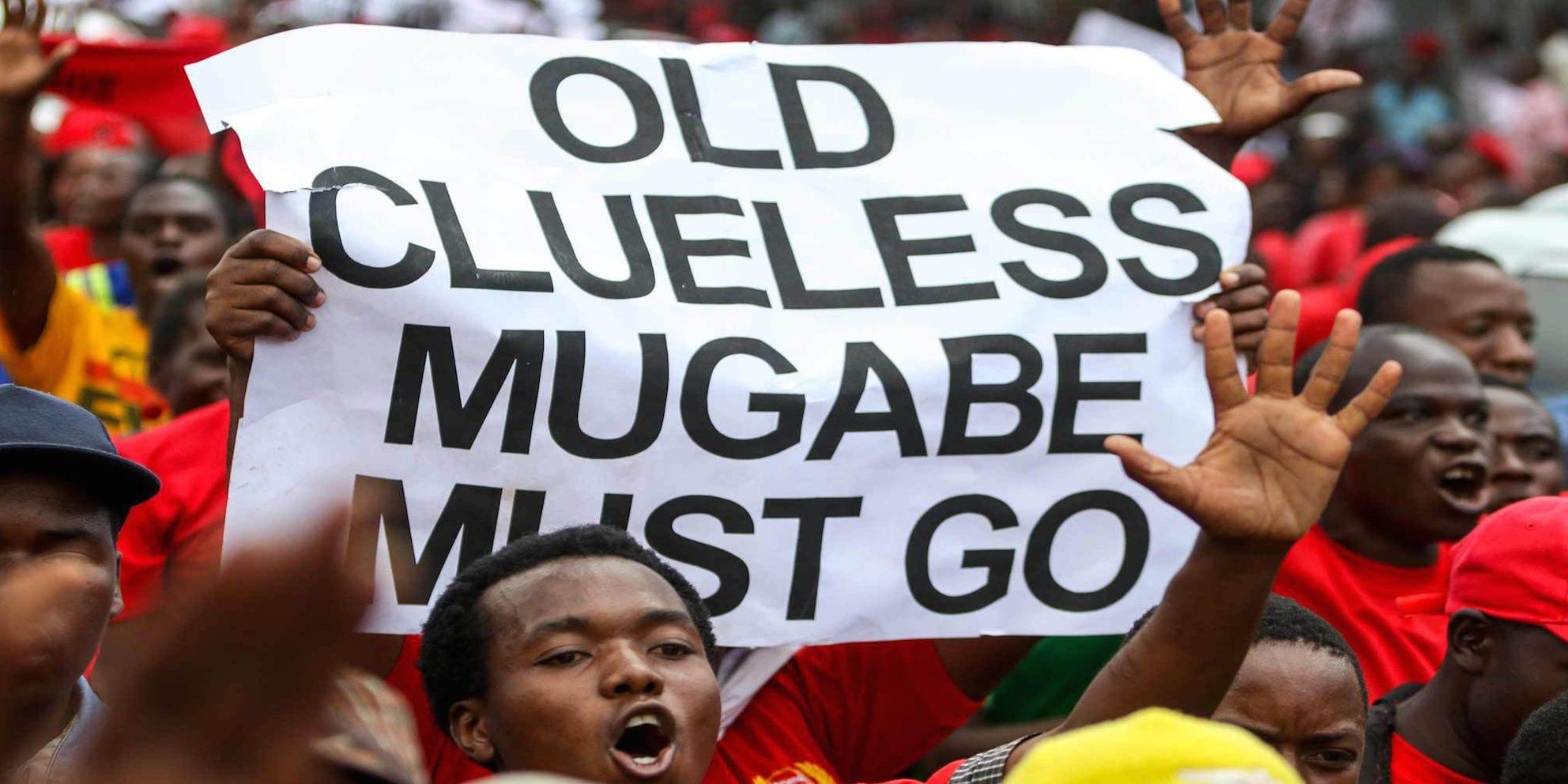 Photo de Zimbabwe: La population réclame le départ de Mugabe