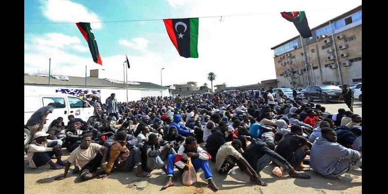 Photo de Libye : L'ONU demande la fermeture des centres de détention des migrants