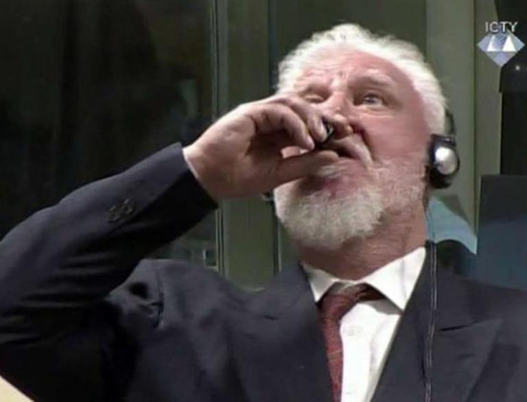Photo de Tribunal de la Haye : Un accusé s'empoisonne en plein procès(vidéo)