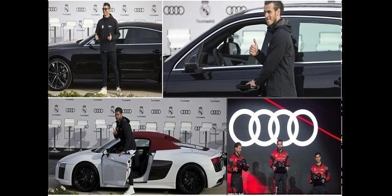 Photo de Découvrez les voitures de luxe reçus par les joueurs du Real en guise de récompense (photos)