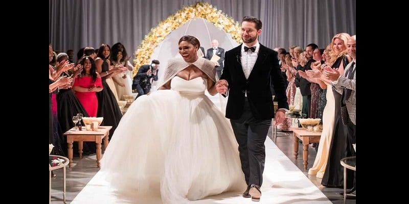 Photo de Vivez en images le somptueux mariage de Serena Williams et Alexis Ohanian (vidéo)