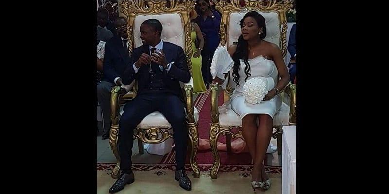 Photo de Cameroun: David Eto'o, le frère cadet de Samuel Eto'o s'est marié (photos)