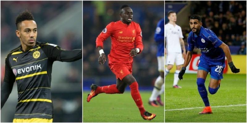 Photo de Sport : Salah, Aubameyang et Mané, finalistes pour le titre de joueur africain de l'année 2017