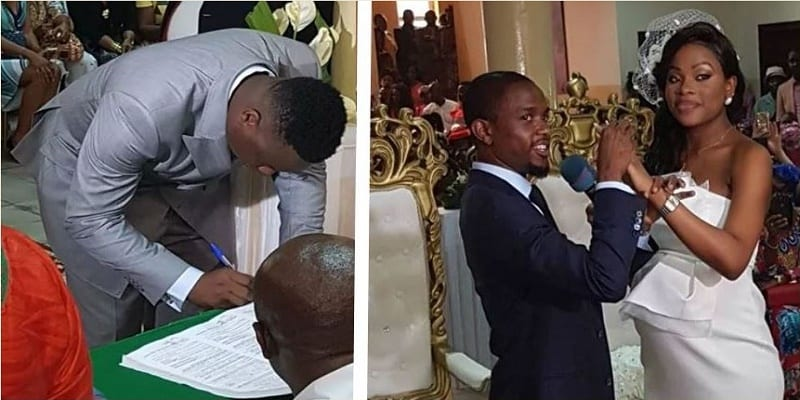 Photo de Cameroun: Retour en images sur le mariage de David Eto'o