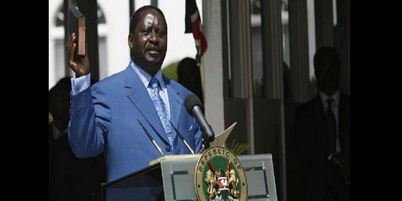 Photo de Raila Odinga: «Je porterai la bible, je serai assermenté»