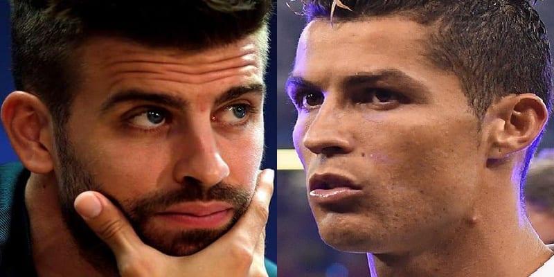 Photo de Ballon d'Or 2017: un tweet de Piqué contre Ronaldo suscite la polémique