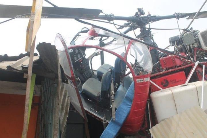 Photo de Côte d'Ivoire-Abidjan : crash d'un hélicoptère dans la commune de Port-bouët!