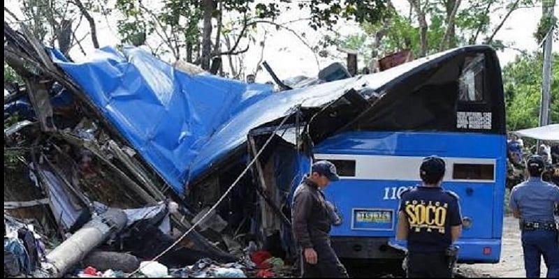 Photo de Noël tragique: Plusieurs membres d'une famille tués dans un accident en Philippines