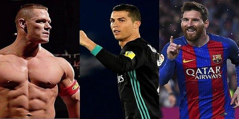Photo de Football: John Cena a fait son choix entre Lionel Messi et Cristiano Ronaldo