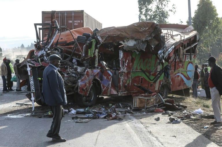 Photo de Kenya: Au moins 36 morts après un accident de la route