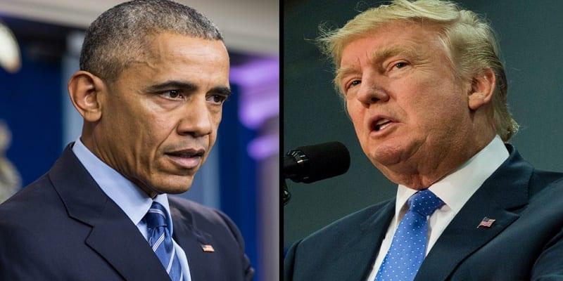Photo de USA: quand Barack Obama met Donald Trump en garde
