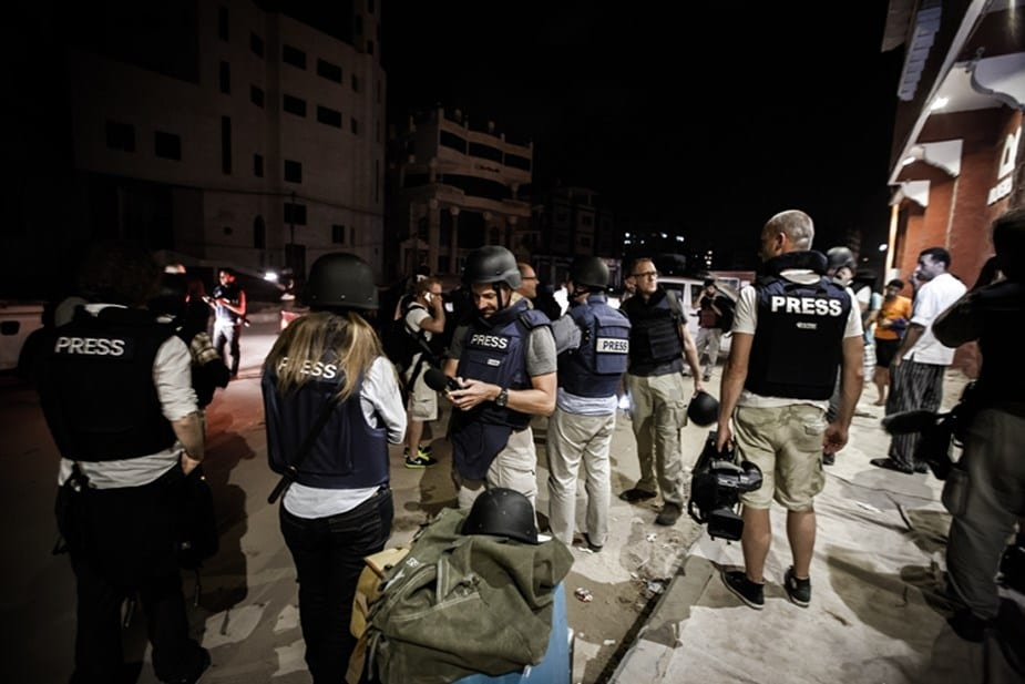 Photo de Monde : 65 journalistes assassinés pour la liberté d'expression en 2017
