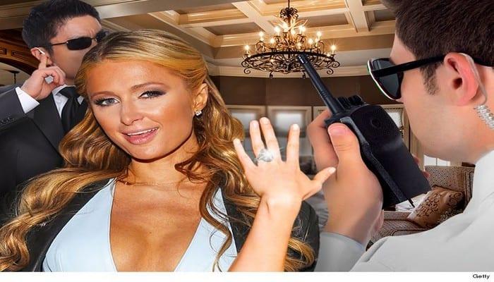 Photo de Paris Hilton: Découvrez son incroyable projet pour sécuriser sa bague de fiançailles