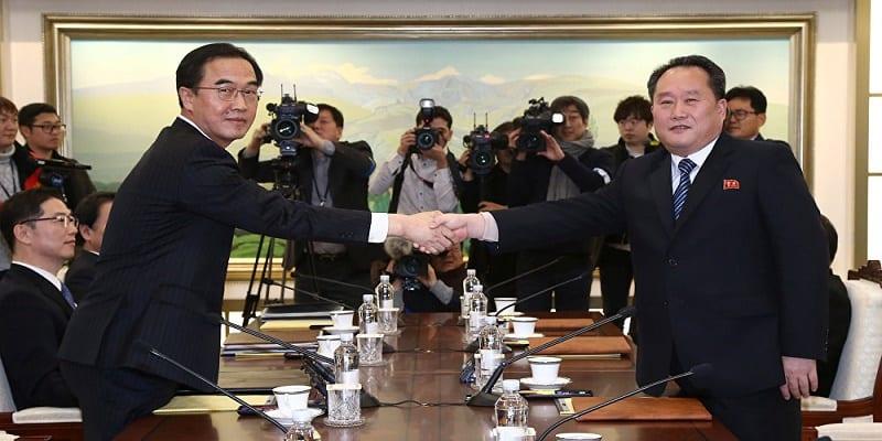 Photo de Rencontre des deux Corées : voici la teneur des discussions