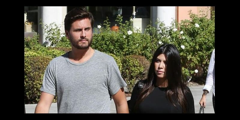Photo de Scott Disick a t-il transmis un message à Kourtney Kardashian?