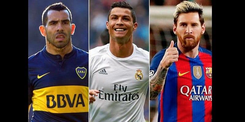 Photo de Football: Carlos Tevezrévèle la différence entre Messi et Ronaldo