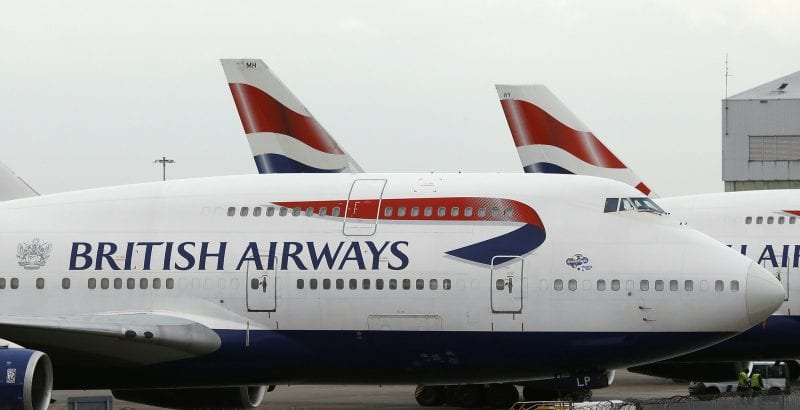 Photo de Ghana : des punaises dans un avion de la British Airways