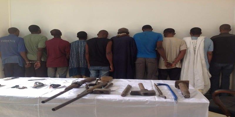 Photo de Sénégal: La police de Mbour met une bande de malfaiteurs aux arrêts