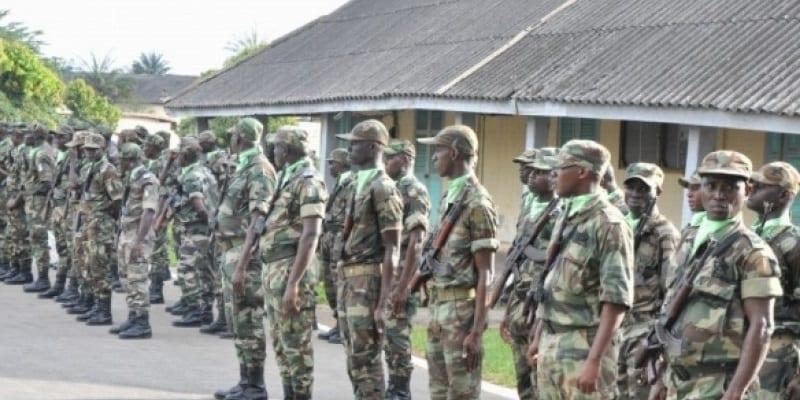Photo de Côte d'Ivoire: conflit entre les forces armées à Bouaké