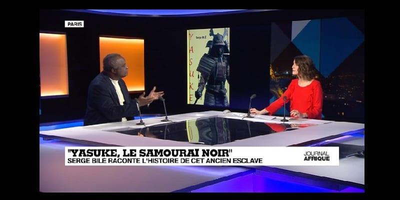 """Photo de Vidéo: """"Yasuke le samourai noir"""" Serge Bilé raconte l'histoire de cet ancien esclave"""