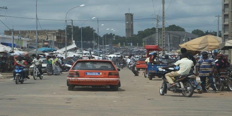Photo de Côte d'Ivoire: Un braquage au marché de Bouaké fait 1 mort