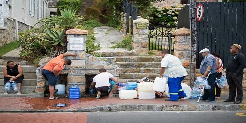 Photo de Afrique du Sud: La crise de l'eau secoue le pays