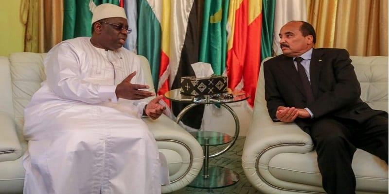 Photo de Sénégal: Visite d'Etat de deux jours de Macky Sall en Mauritanie